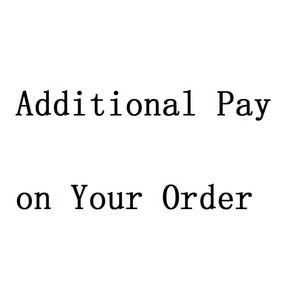 Additional Pay on Your Order - engrave words fee