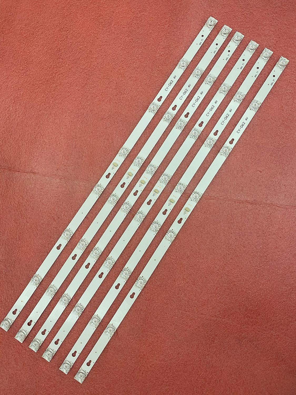 15 قطعة/الوحدة LED الخلفية قطاع لتوشيبا L40F3301B 40A730U 40l2600 L40D2900F TCL F40S5916 40S305 TOT_40D2900 40HR330M08A6 V8