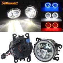 مجموعة مصابيح إضاءة LED للسيارة من build dreamen2 طراز H11 4000LM وضوء للضباب وضوء للركض والنهار لعين الملاك مناسبة لسيارات فورد تورنيو ترانزيت 12 فولت