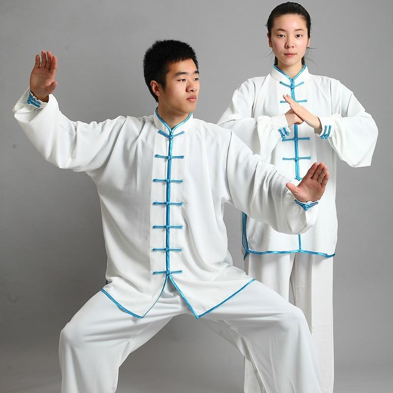 Новый дизайн 14 цветов с длинным рукавом Wushu TaiChi форма для кунгфу костюм униформа Tai Chi одежда для упражнений|tai chi|tai chi clothingkungfu clothing | АлиЭкспресс