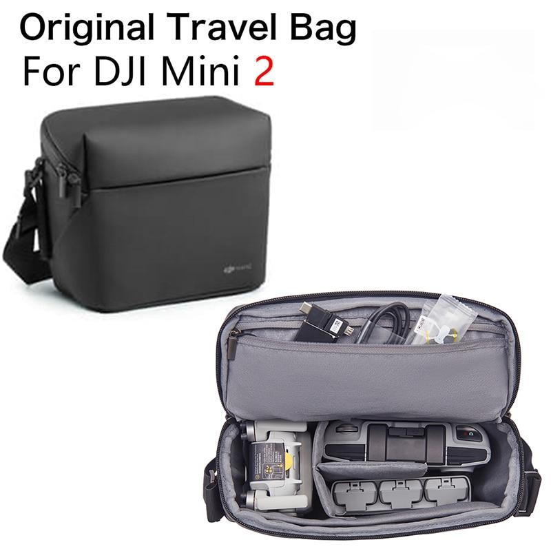 In Stock Original DJI Mini 2/Mavic Air 2 Shoulder Bag Travel Storage Bag Carrying Case For DJI Mavic MINI 2 Drone Accessories