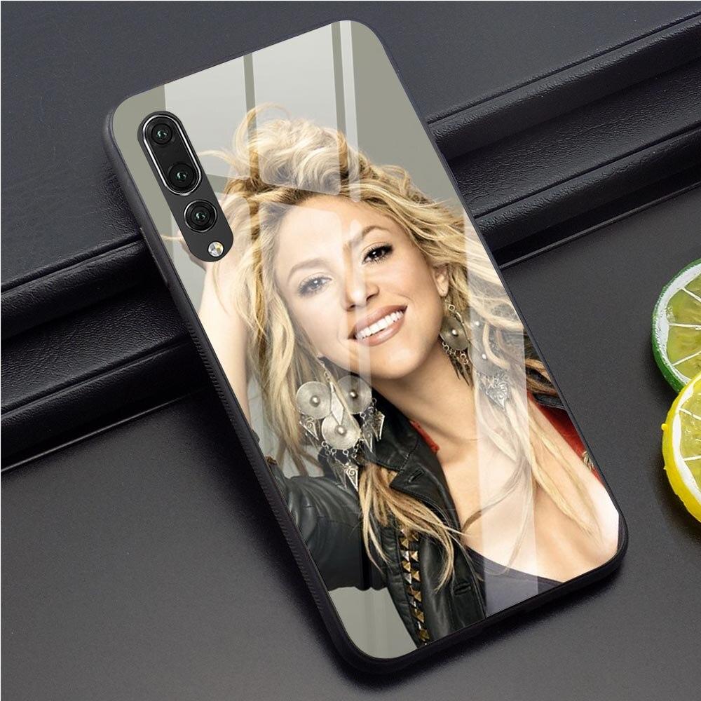 Shakira Isabel Mebarak Ripoll Phone Cover for Huawei P30 Pro Case P10 P20 P30 PRO P Smart Mate 20 Lite Honor 9 10 Lite 7A Glass