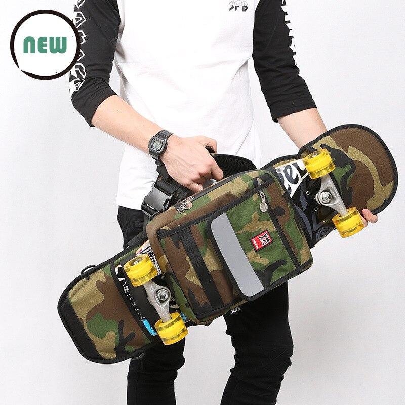 Уличная спортивная сумка для скейтборда, большой рюкзак для рыбной доски, двойная сумка для скейтборда, мужская сумка для скейтборда, парку...