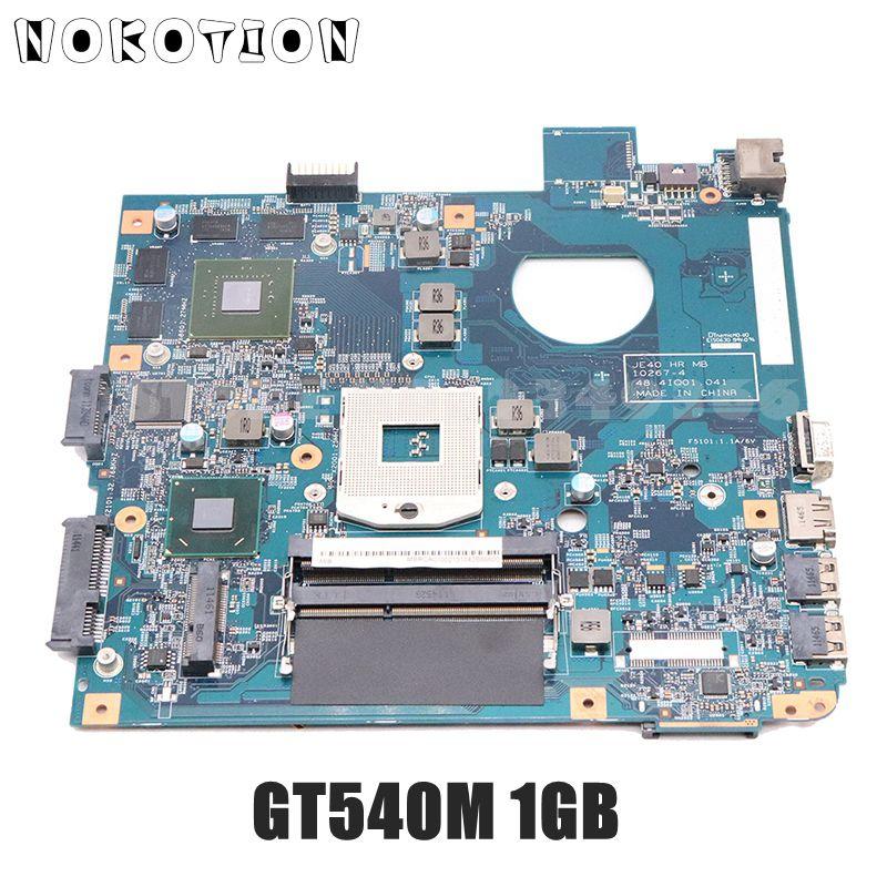NOKOTION MBRC901002 MB. RC901.002 עבור Acer aspire 4750 4750G מחשב נייד האם 48.4IQ01.041 HM65 DDR3 GT540M 1GB