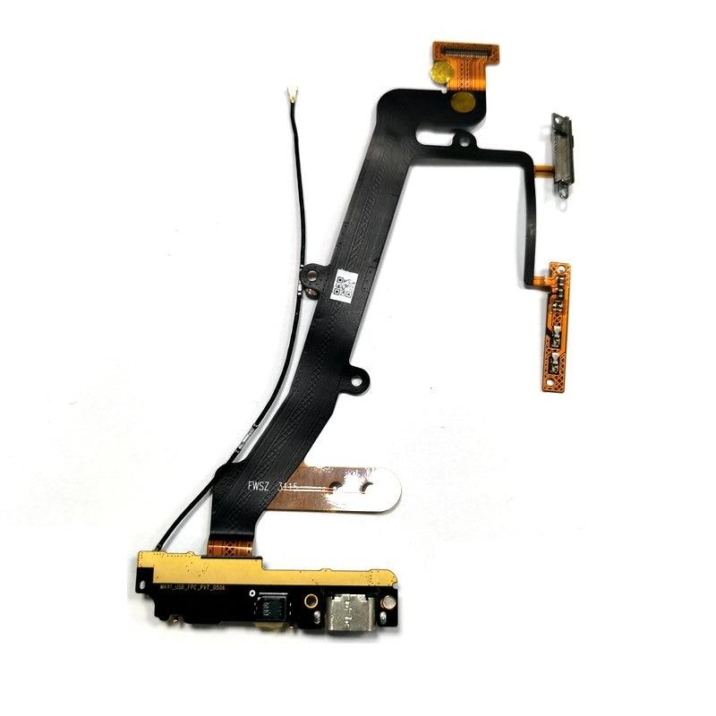 Placa de carga USB Original con Cable flexible de señal y micrófono,...