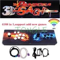 3d pandoras box arcade game console retro games full hd 4188 in 1 wifi pcb board add gaming function