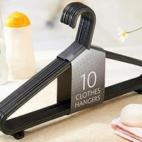 household multifunctional plastic antiskid clothes rack adult clothing 10 pieces