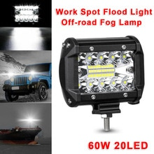 10-48V LED Work Light Spot Flood Driving Fog Lamp DRL 6000K 10800LM Waterproof For Car SUV Truck Off-Road ATV Boat Yacht