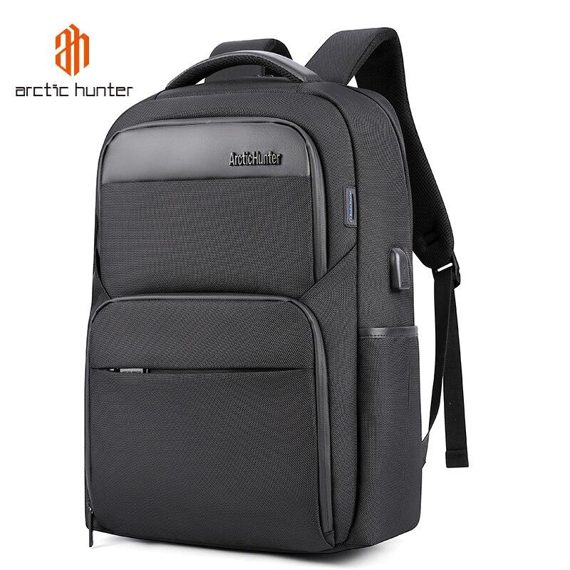 ARCTIC HUNTER 2020-حقيبة ظهر للكمبيوتر المحمول مقاس 15.6 بوصة ، حقيبة ظهر متعددة الوظائف للرجال والنساء