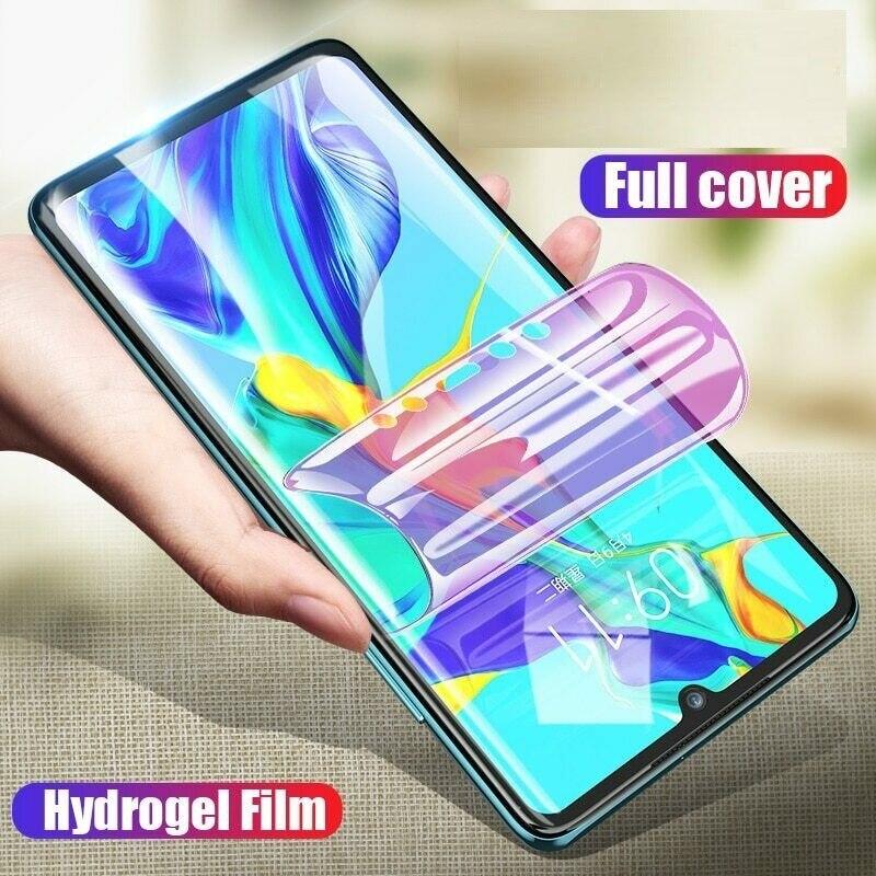 Protector de pantalla para UMIDIGI F2 potencia 3 F1 jugar X Max S2 S2 Pro A5 Pro cubierta completa de la película de hidrogel suave HD película protectora