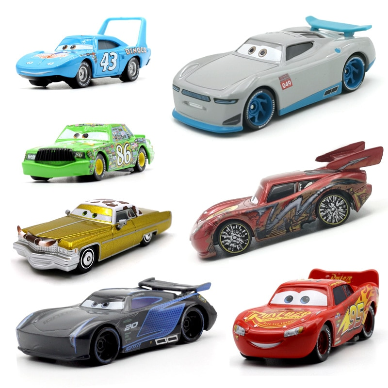 pixar cars jackson storm 1 55 scale mini cars model toys for children christmas gifts figures alloy cars toys high quality Disney Pixar Cars 3 21 Style For Kids Jackson Storm High Quality Car Birthday Gift Alloy Car Toys Cartoon Models Christmas Gifts