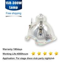 Free shipping MSD300W 15R Lamp MSD Platinum 15R Metal Halide Stage Lamp Sharpy Beam Moving head Light Bulbs High Quality
