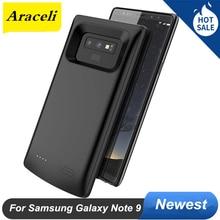 Pour Samsung Galaxy Note 9 boîtier de batterie 2020 5000 Mah chargeur de mode de banque de puissance pour Samsung Note 9 boîtier de batterie Note9