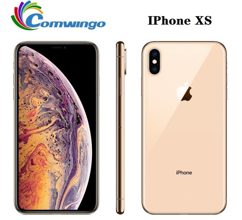 Original Unlocked Apple iphone XS 4G LTE 4G RAM 64gb/256gb ROM A12 Bionic Chip IOS12