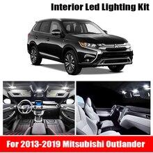 11x Canbus sans erreur LED intérieur Kit de lumière paquet pour 2013-2019 Mitsubishi Outlander accessoires carte dôme tronc licence lumière