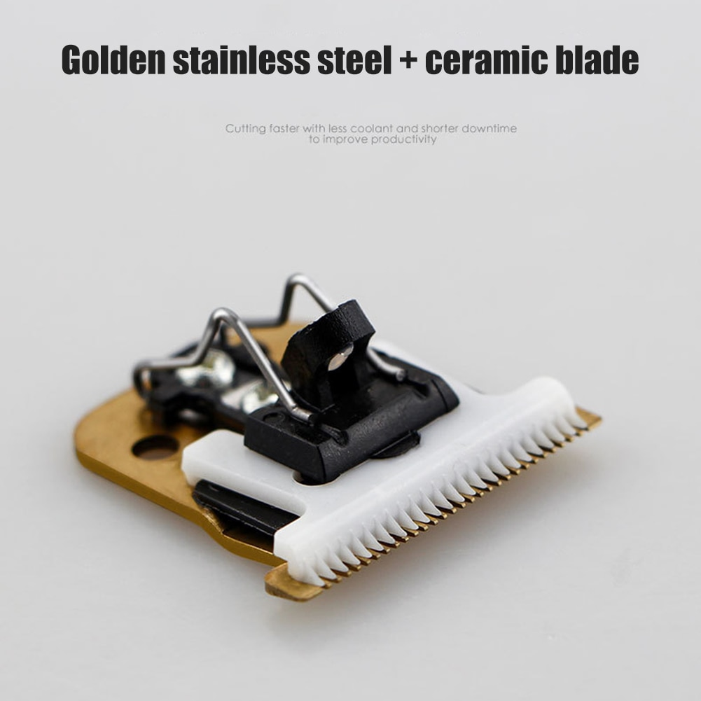 japan nt cutter spare replacement blade bd 100 small art blade 9mm 30 degrees 50blades pack for d 400 d 1000 c 400 c 1500 Hair Clipper Blade Spare Knife Replacement T-Outliner Moveable Blades Grooming Clipper Ceramic Cutter Blade for Trimmer Cutter