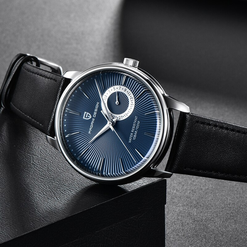 PAGANI Design Luxury Brand Military Watch Men Quartz Analog Clock Leather Strap Clock Mens Sports Watches Army Relogio Masculino