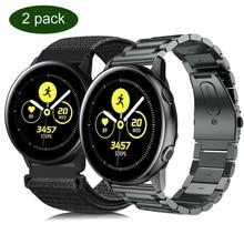 Часы galaxy 46 мм ремешок для samsung active 2 huawei watch gt 2e band 20 22 мм correa для amazfit bip Ticwatch Pro 2020 браслет