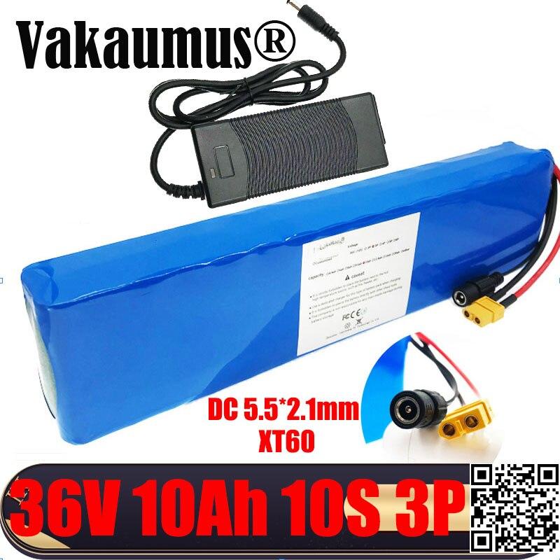 Batería de bicicleta eléctrica de 36V y 10Ah, paquete de batería de...