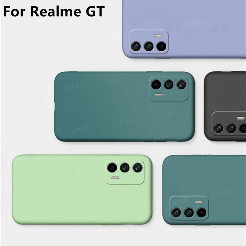 For Cover OPPO Realme GT Neo Case For Realme GT Coque Bumper Phone Back Shockproof TPU Soft Cover For OPPO Realme GT Neo Fundas