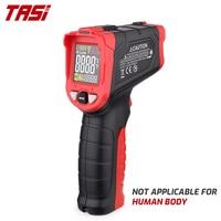 Цифровой инфракрасный термометр TASI TA601A/B/C, Бесконтактный лазерный измеритель температуры с цветным ЖК светильник дисплеем и сигнализацией