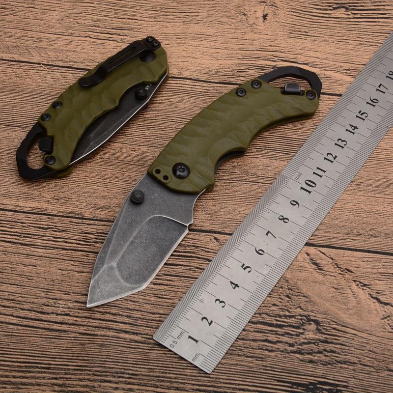 EDC Utility Mini cuchillo plegable de bolsillo KS8750 al aire libre Camping supervivencia cuchillos de caza pequeña herramienta de mano