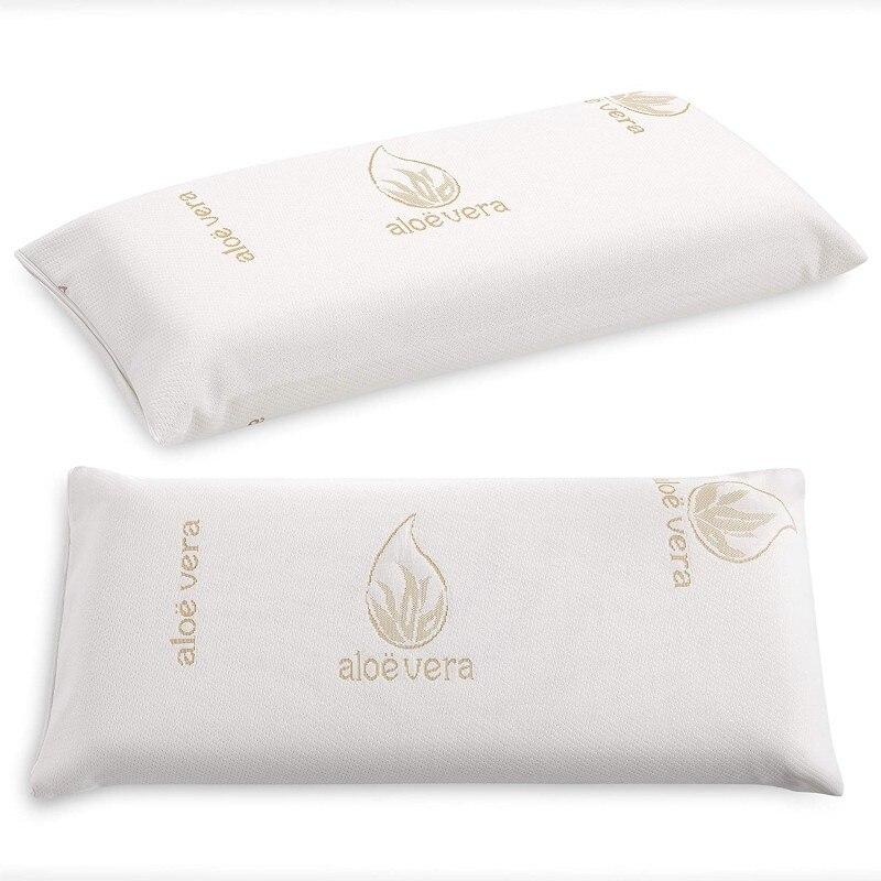 Compact Aloe-Tex viscoelastic pillow (105)