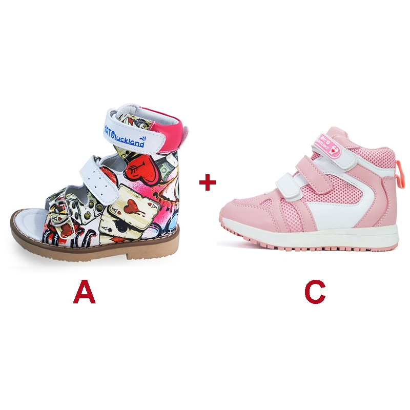 Summer Autumn Children Boots and Sandals Leather Toddler Kids Boys Girls Sport Casual Cute Fashion Fancy Luxury Orthopedic Shoes enlarge