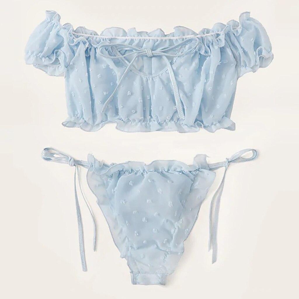 Mulheres de lingerie sexy Lingerie Corset Malha Underwire Atrevido Musselina Sleepwear Underwear Tops + Cuecas секс эротическое белье vestidos