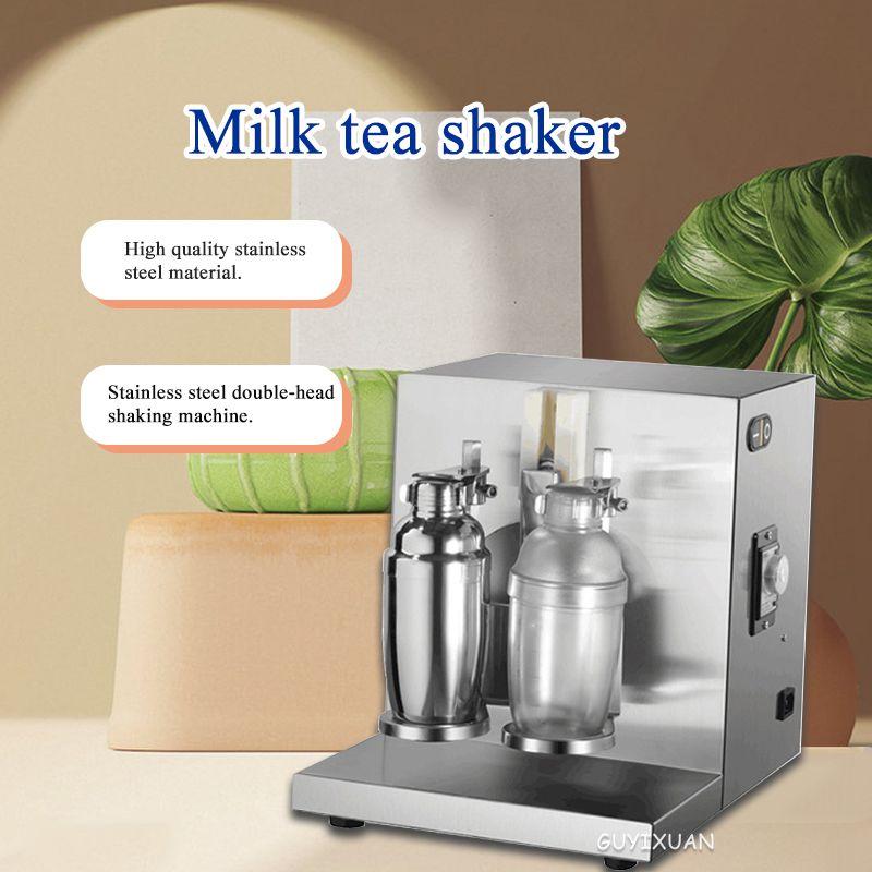 220 فولت التجارية الحليب الشاي شاكر/هزة مزدوجة 360 درجة آلة الثلج/وضع كوب مزدوج/لمشروبات متجر الشاي الحليب