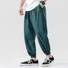 Casual Pantaloni Stile Harem Degli Uomini Jogger Pantaloni Da Uomo Pantaloni Allentati Maschio Pantaloni Cinese Tradizionale Harajuku 2020 estate Vestire