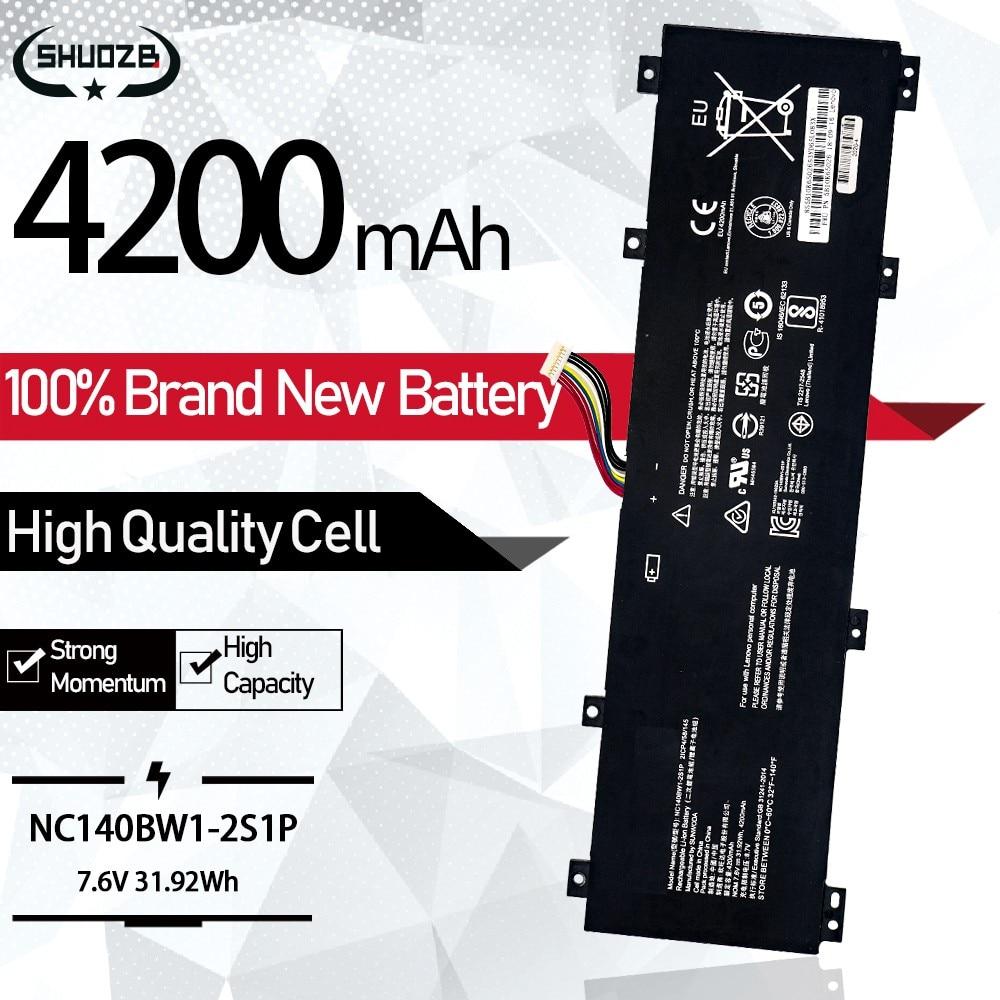 31.92WH 7.6V 4200mAh جديد NC140BW1-2S1P بطارية كمبيوتر محمول لينوفو IdeaPad 100S 0813002 80R9 100S-14IBR 100S-141BR 2ICP4