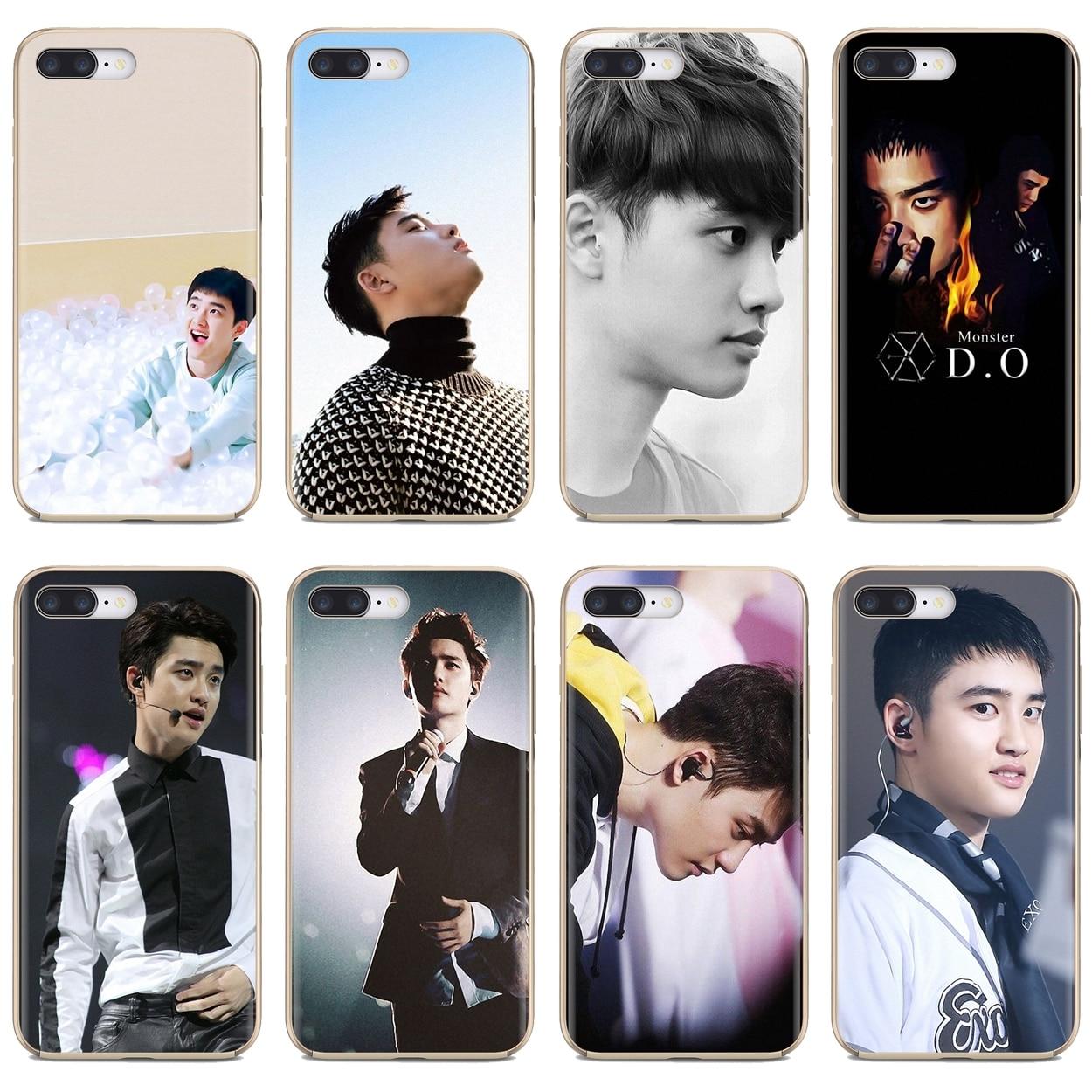 Cubierta de teléfono de silicona delgada de TPU suave D.O. kyungsoo Exo Kpop para BQ Aquaris C U2 U V X2 X Lite Pro Plus E4.5 M4.5 X5 E5 4G M 2017