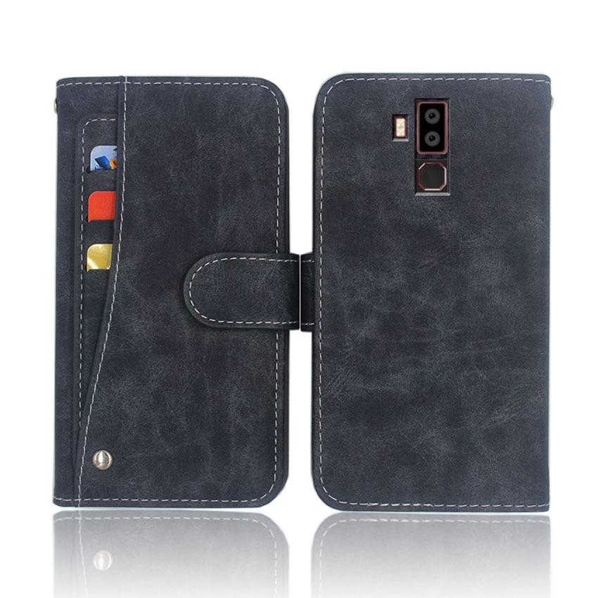 Hot! Oukitel k13 pro caso de alta qualidade flip couro saco do telefone capa para oukitel k13 pro com slot para cartão slide dianteiro