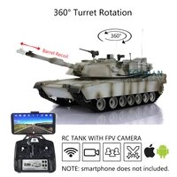 us stock heng long 116 tk tk6 0s plastic fpv m1a2 abrams rc tank 3918 gearbox barrel recoil th16260 smt5