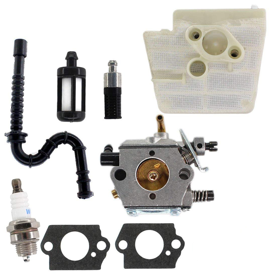 Carburetor For Stihl 024 026 MS240 MS260 240 Walbro WT -194 carb Air Filter
