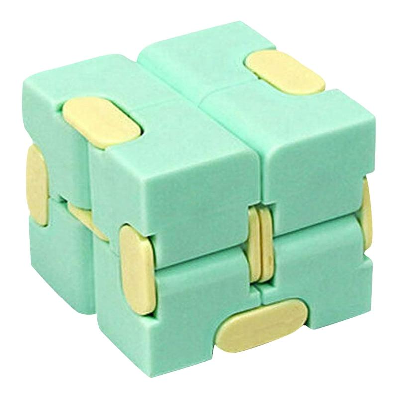 Children's Fingertips Decompress Fidget Toys Portable Lightweight Magic Square Antistress Toys Infinity Puzzle Sensory Toys enlarge