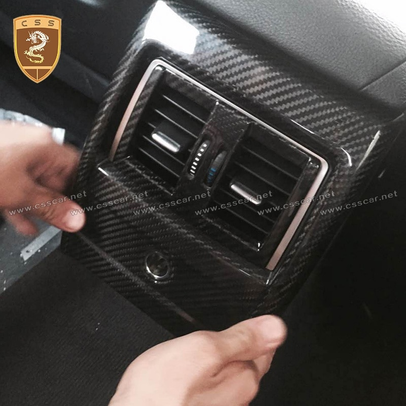 Css Decoration Interior Parts Car Air Conditioning Cover For Bw 3 Seriors F35 Carbon Interiors enlarge