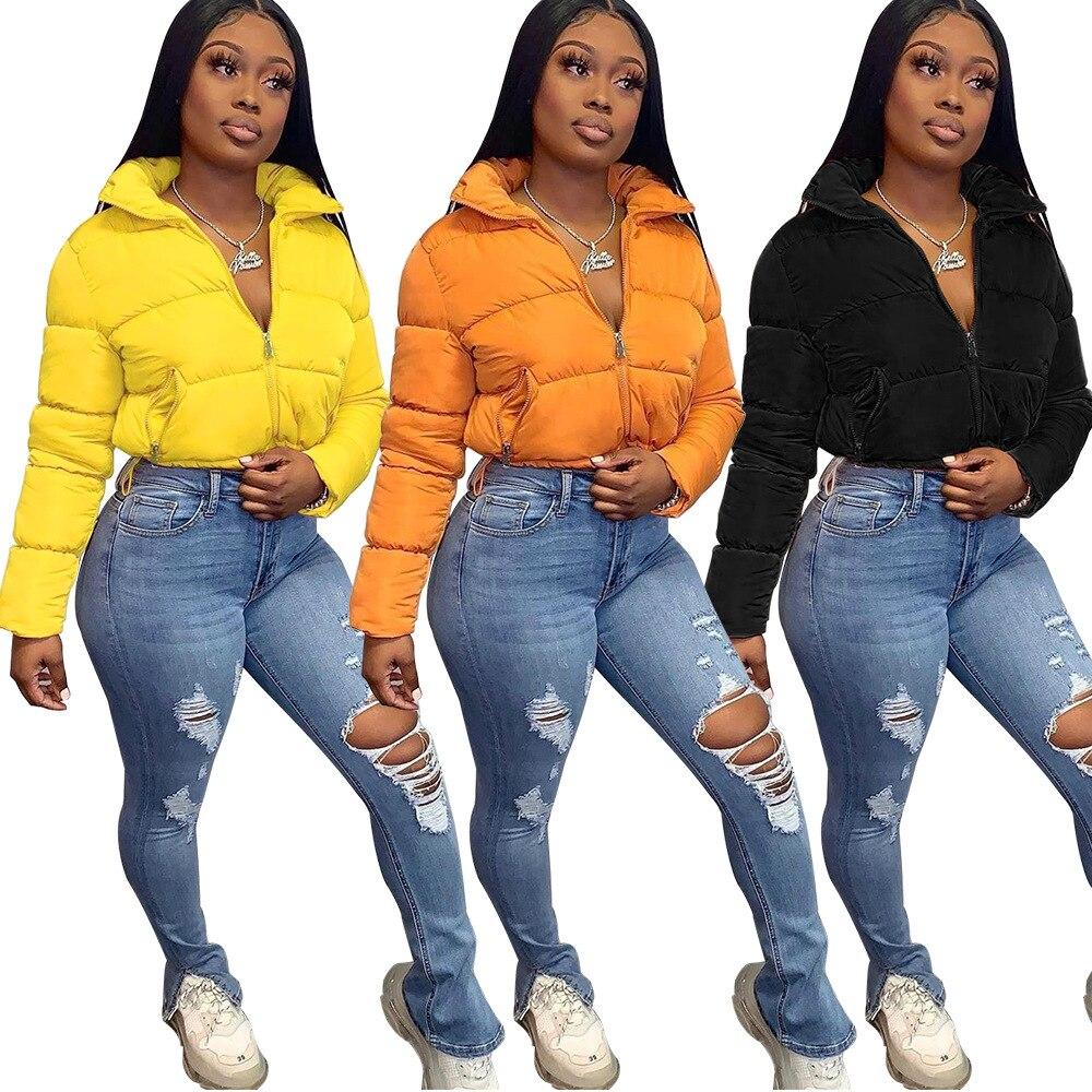 Женская куртка-бомбер, парки, зимняя одежда, женская укороченная пуховая куртка-бомбер 2021, Одежда большого размера, уличная одежда