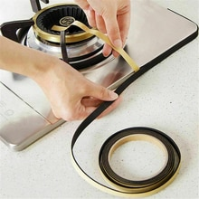 Kitchen Sink Waterproof Mildew Strong Self-adhesive Tape Gas Stove Table Gap Anti-fouling Anti-mold Kitchen Sink Sealing Tape