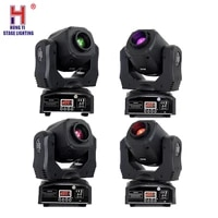 lyre spot 60w led moving head gobo party show stage light machine with dmx 512 control dj diso projector lighting