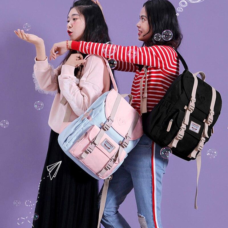 Mochila para portátil de mujer, marca atinfor, mochila escolar para adolescentes, mochila de viaje