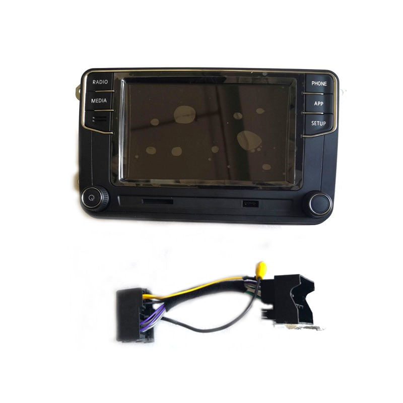 Carplay RCD360 RCD 360 MIB راديو تلقائي Mirrorlink 6RD 035 187B ل جولف 5 6 جيتا MK5 MK6 بولو باسات B6 B7 CC تيغوان T