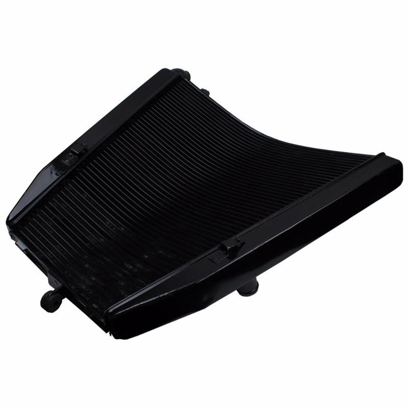 Refrigerador del radiador de la motocicleta de aluminio negro para Honda CBR1000RR CBR 1000 RR 2004-2005 Repsol 2005