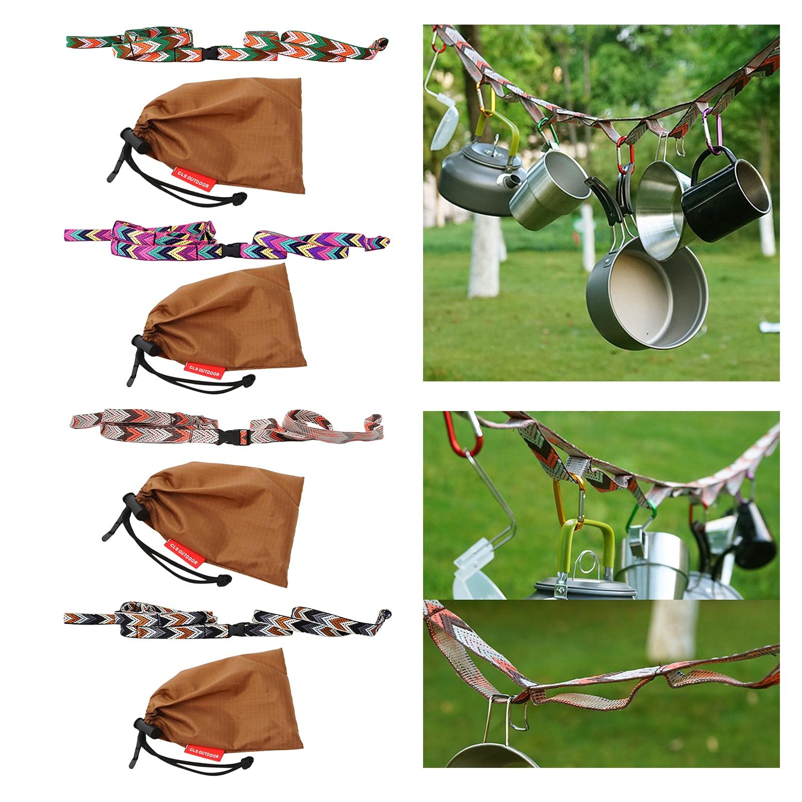 1 шт. уличная портативная веревка для кемпинга и путешествий, ремни для хранения, веревка для скалолазания, прочная веревка, многофункционал...