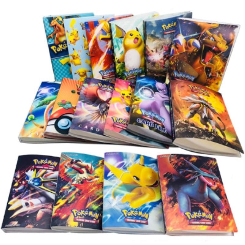 Álbum de colección de pokemon para niños, libro de tarjetas de pokemon,...