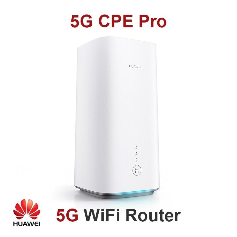 Unlocked English Version Huawei 5G CPE Pro H112-372 CPE Wireless Router 5G n41/n77/n78/n79