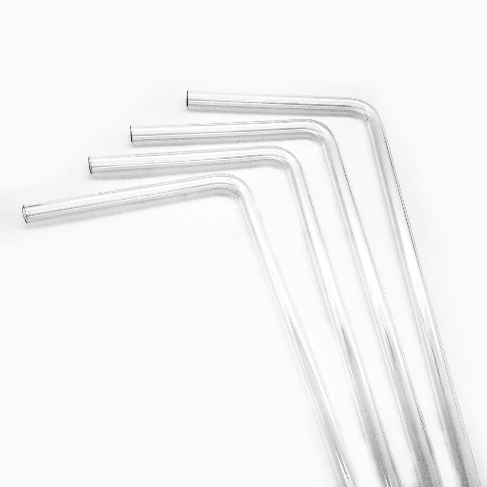BYKSKI 4 قطعة/السلع PMMA / PETG الصلب أنبوب 90 درجة الانحناء أنبوب شفافة سمك (OD12mm/OD14mm / OD16mm ) + 2 مللي متر