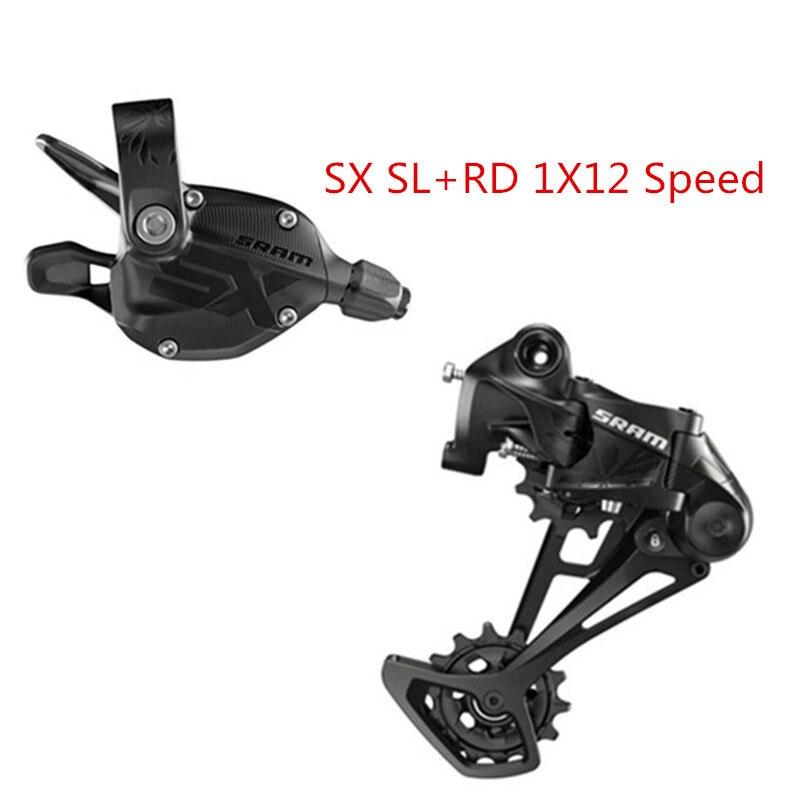 SRAM SX EAGLE 1x12 Velocidad SX gatillo cambiador SX cambio trasero jaula larga MTB SX palanca de cambio SX cambio trasero 12s SL + RD