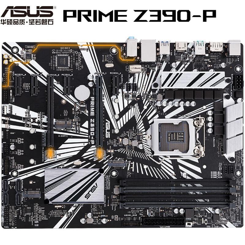 For ASUS PRIME Z390-P Intel Z390 1151 LGA ATX M.2 Desktop Motherboard B